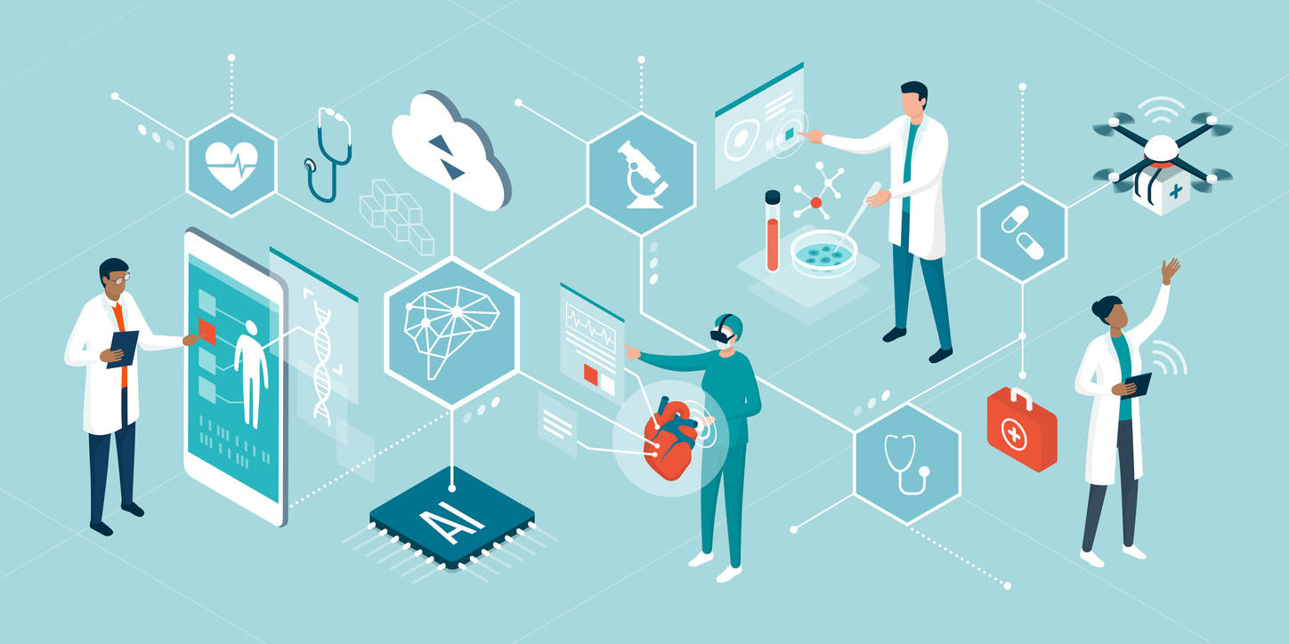 Breaking the Healthcare Data Silos through Federated Learning Models