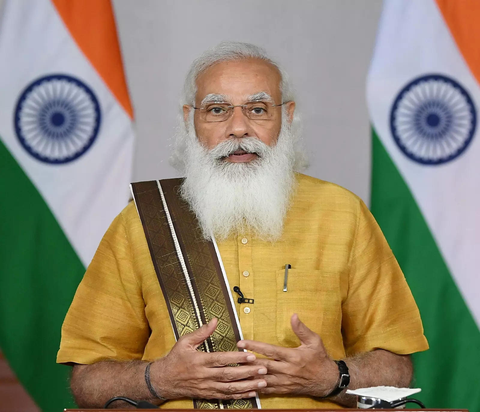 PM Modi launches crash course programme for Covid-19 frontline workers
