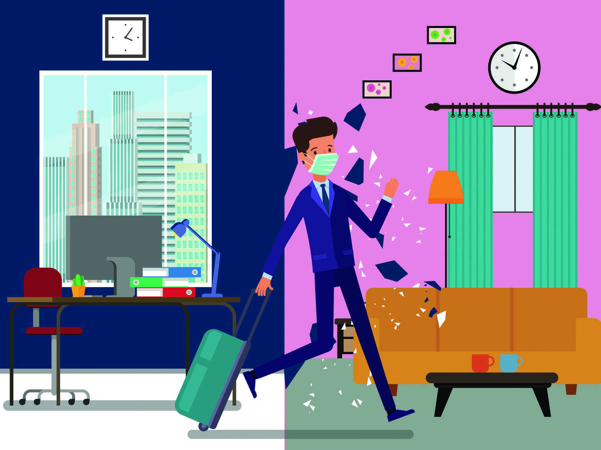 Corporate employees bid adieu to Gurugram amid prolonged WFH model