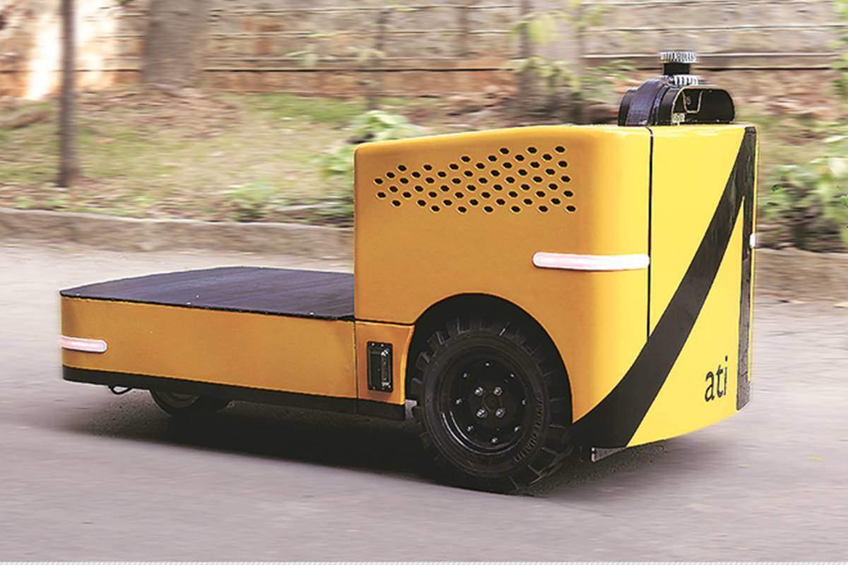 ati motors funding: autonomous industrial vehicle maker ati motors raises  usd 3.5 mn funding, auto news, et auto