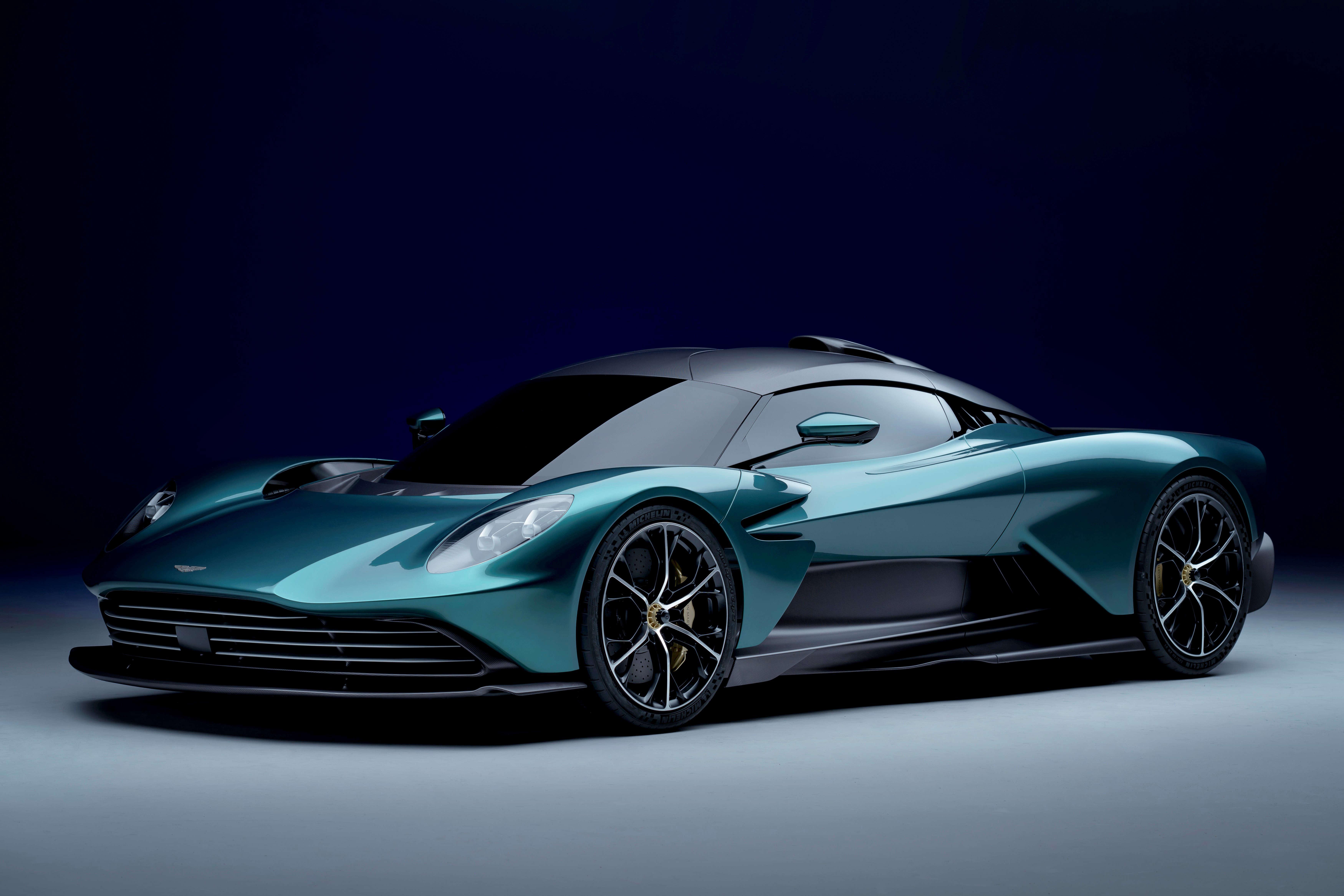 Aston Martin unveils Valhalla hybrid supercar with 937hp V8 engine