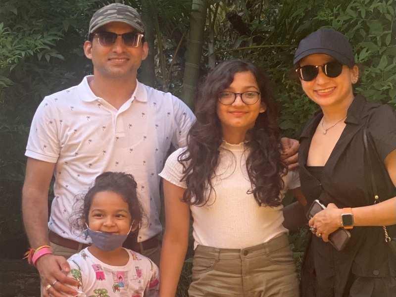 Rajiv Naithani and family
