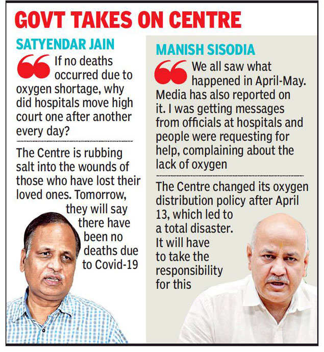 No one dying for lack of oxygen is a lie: Delhi deputy CM Manish Sisodia