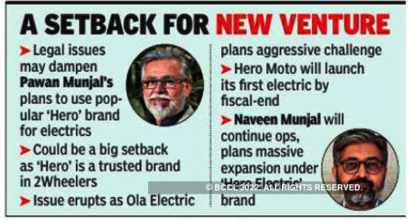 Pawan Munjal can't use 'Hero' tag for EVs, setback for new venture