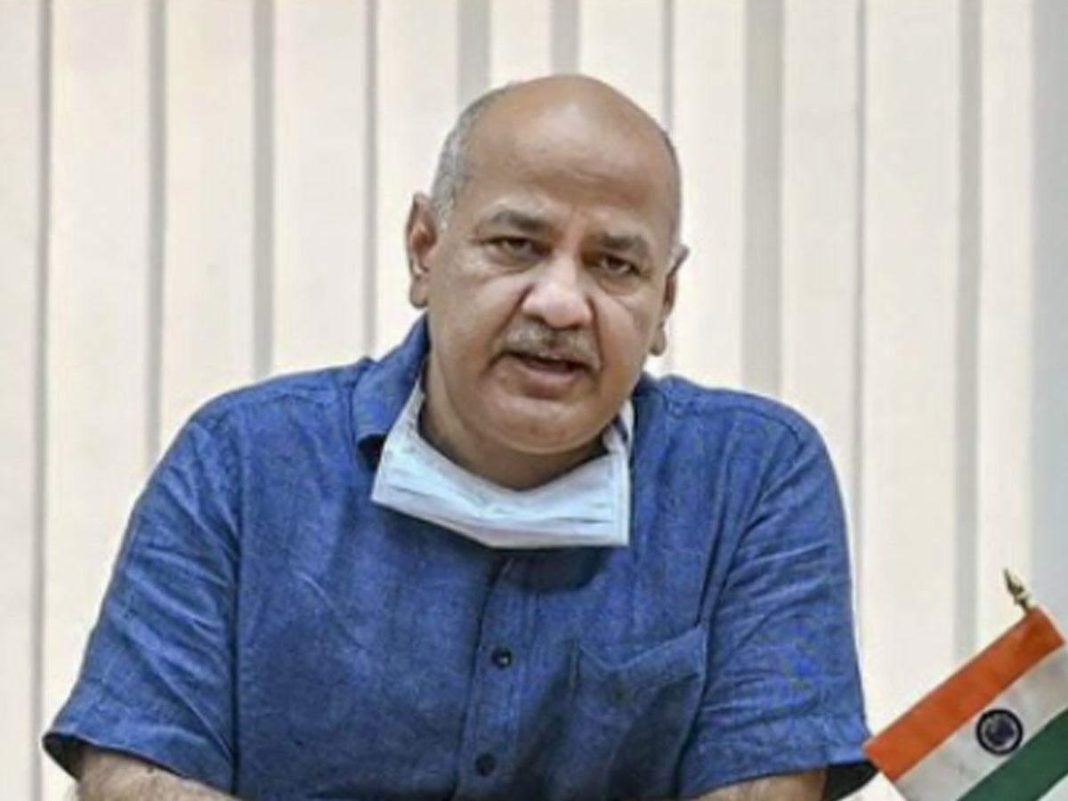 Delhi deputy CM Manish Sisodia (ANI photo)