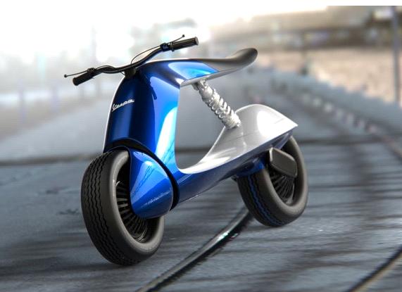 Virgin concept scooter