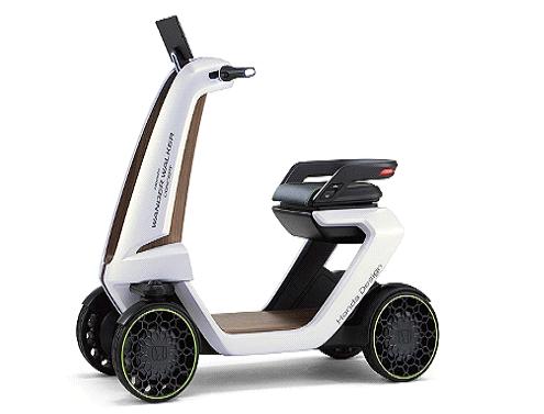 Vespa concept scooter