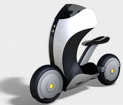 Honda concept scooter