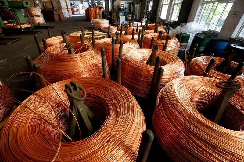 Three-month copper on the London Metal Exchange rose 0.8% to $9,516 a tonne by 0512 GMT while the most-traded August copper contract on the Shanghai Futures Exchange advanced 1.7% to 69,810 yuan a tonne.