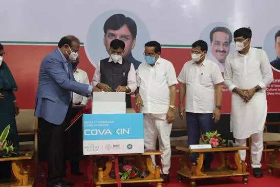 First commercial batch of COVAXIN released from Ankleshwar is a landmark moment, says Mandaviya