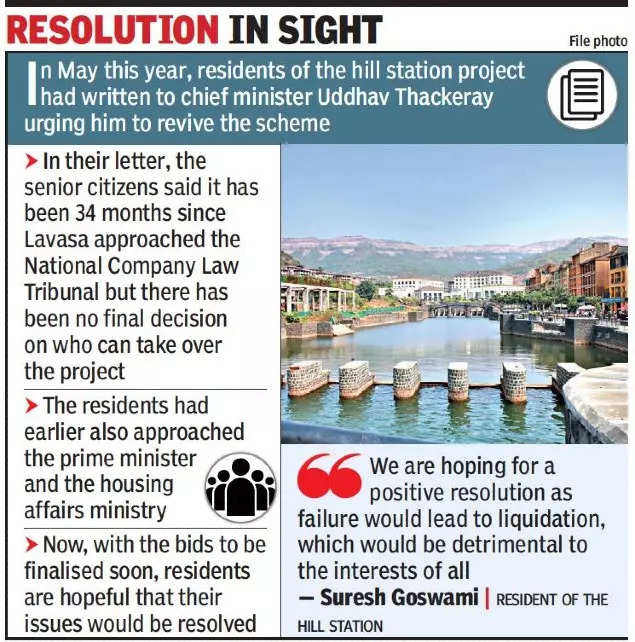 Lavasa residents count on final bid decision for pending project
