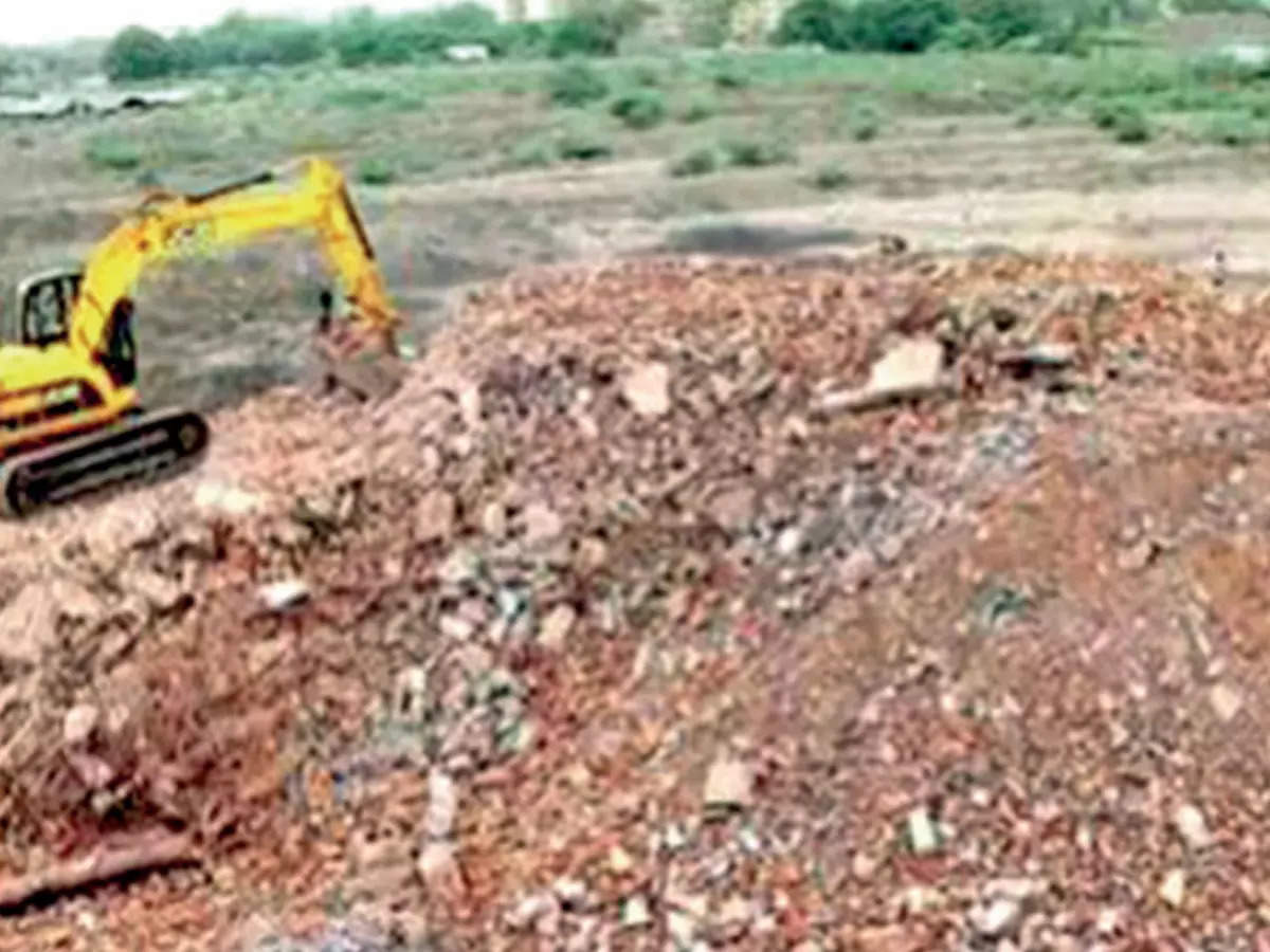 Ludhiana: Construction & demolition waste piles up, recycling project in deep abyss – ET RealEstate
