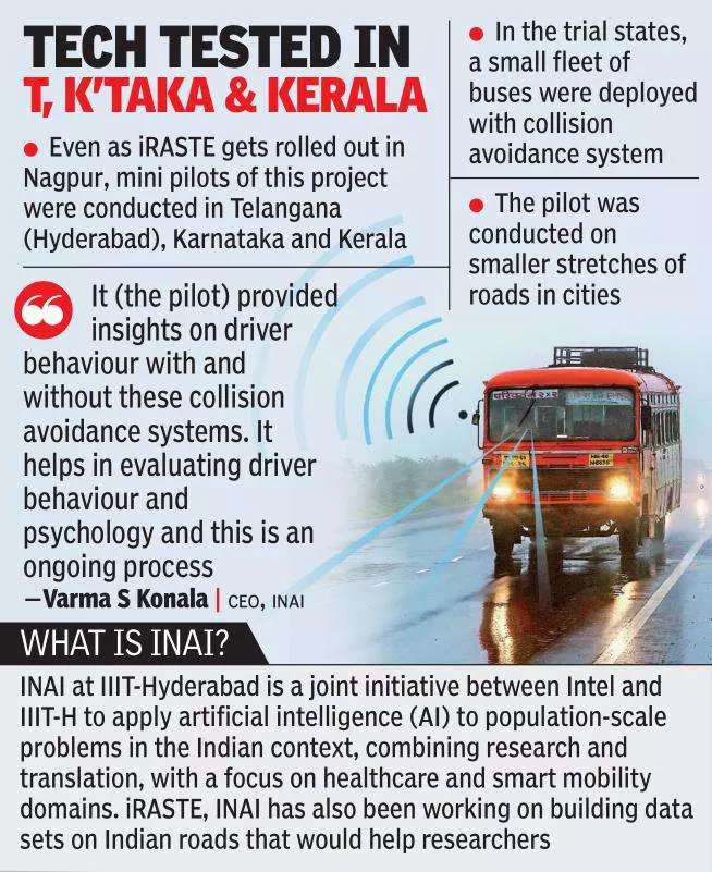 IIIT-Hyderabad, Intel to leverage AI to make Nagpur roads safer