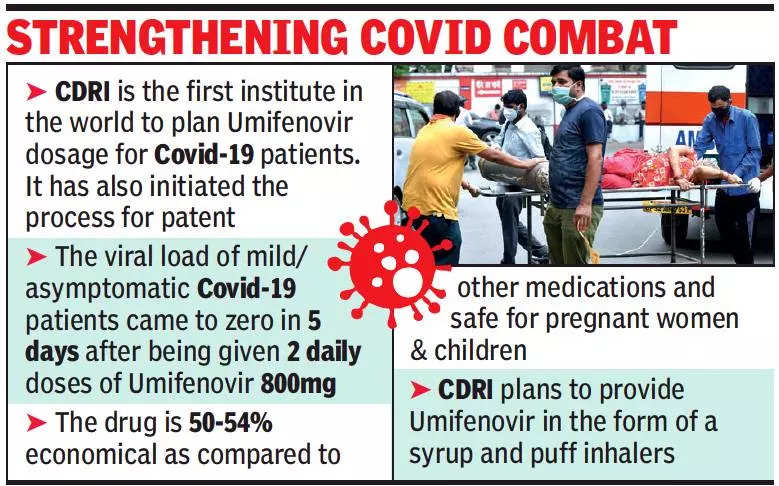Lucknow: Central Drug Research Institute achieves breakthrough in trial of Umifenovir in Covid-19 treatment