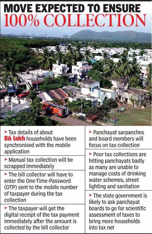 Property tax collection in Andhra Pradesh villages to go online