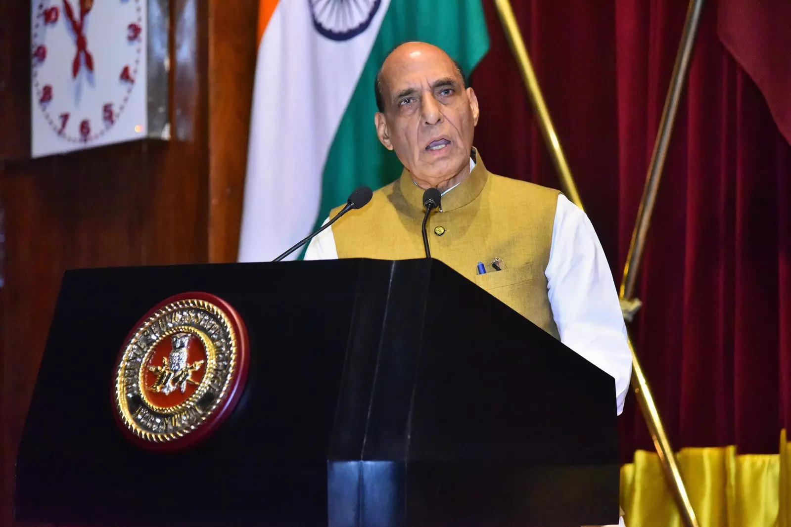 Rajnath Singh urges private sector defence industry to invest in R&D with special focus on cyberspace