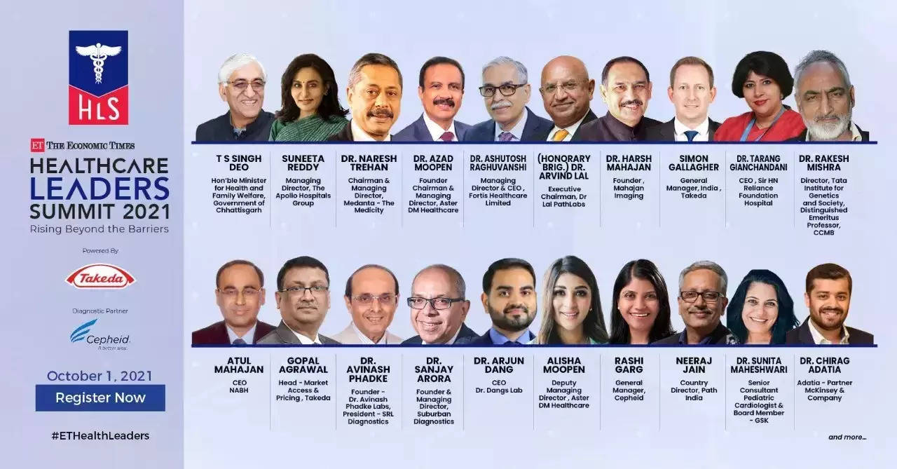 Experts to deliberate on strengthening healthcare system post-pandemic at ET Healthcare Leaders' Summit