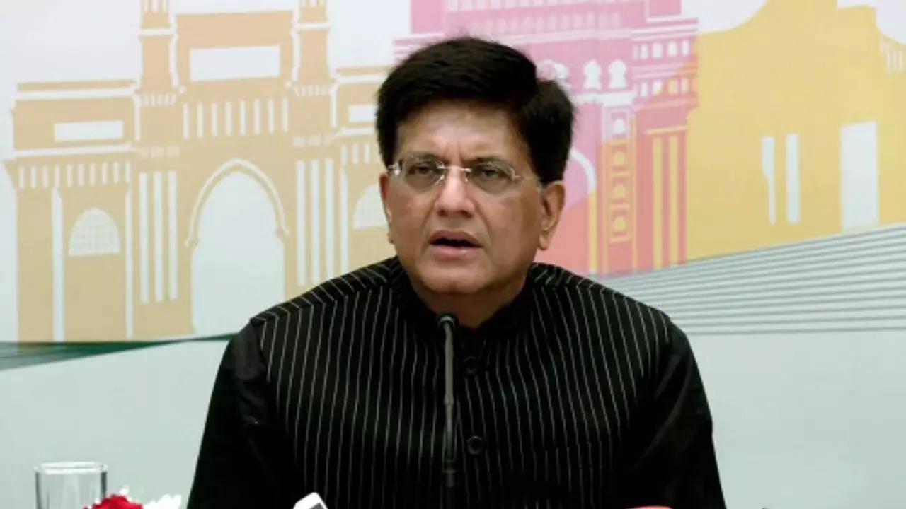 Commerce and industry minister Piyush Goyal (ANI photo)