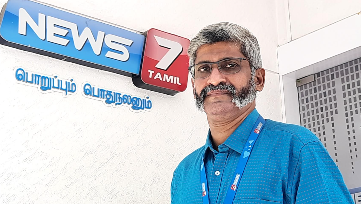 """Hard Work Always Wins"": Venkat Ramani"