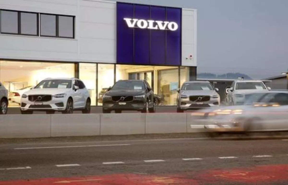 Volvo auto sales September 2021: Volvo Cars reports 30% sales drop in  September as chip crisis weighs, Auto News, ET Auto
