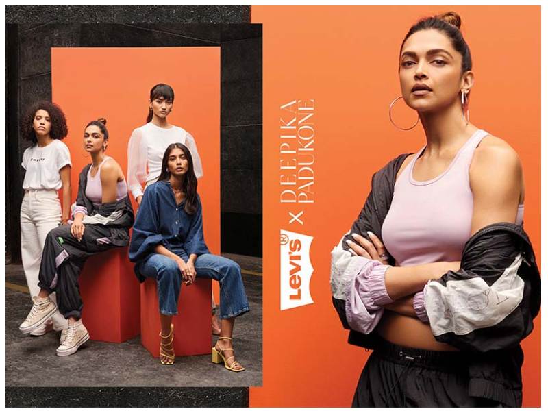 Levi's unveils their new collection in collaboration with Deepika Padukone