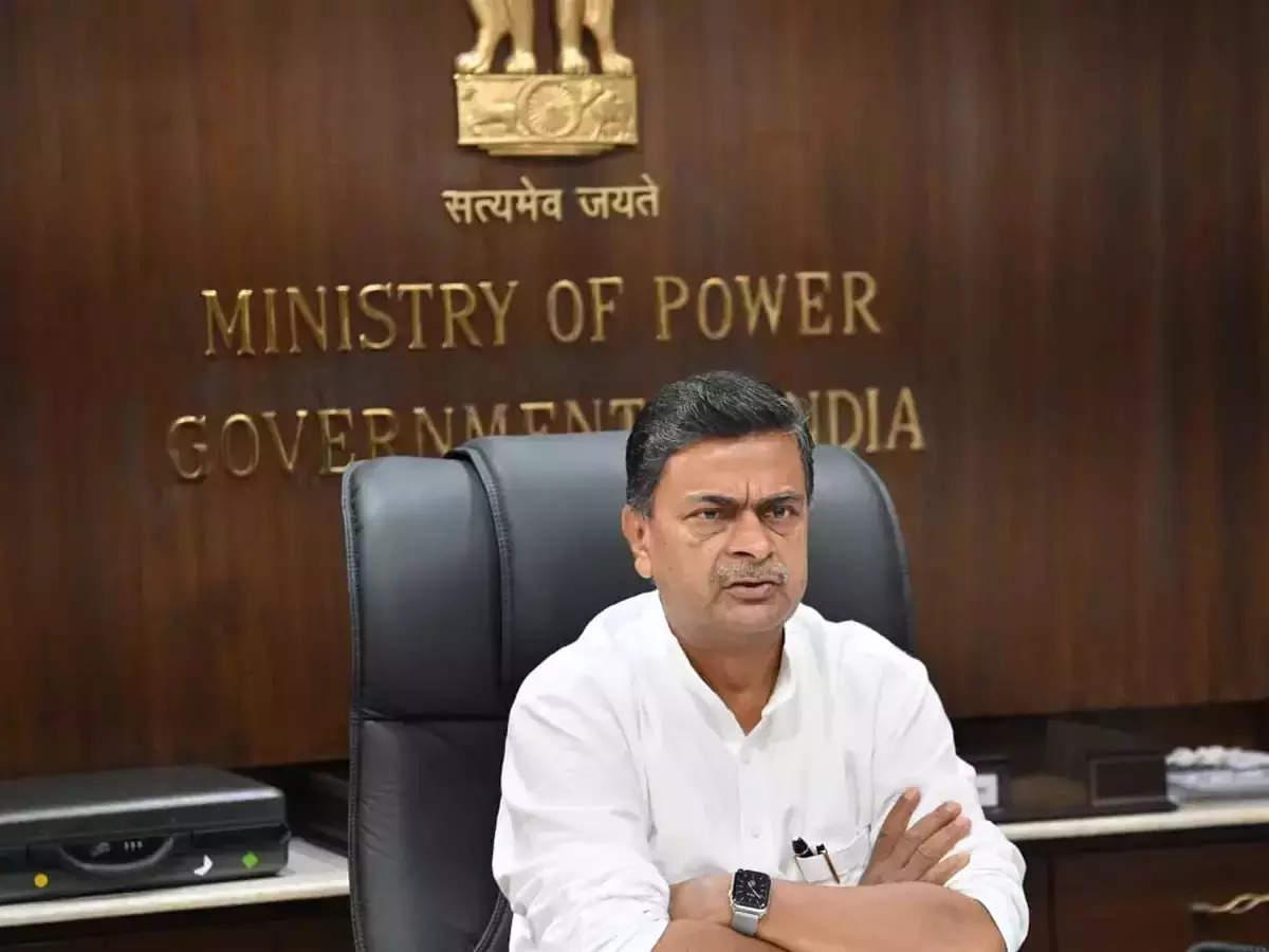 Union Power Minister R K Singh