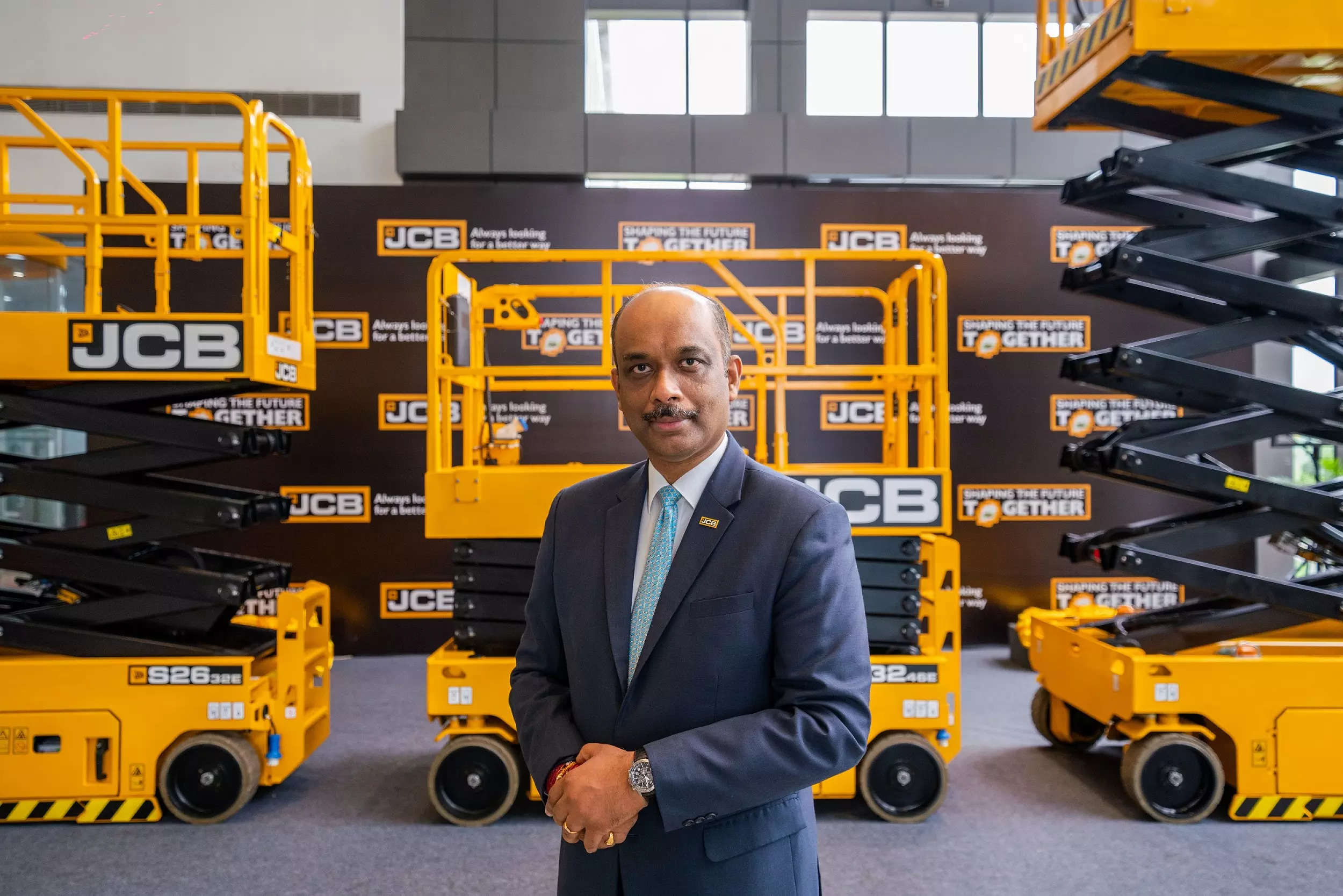 Deepak Shetty, CEO and MD of JCB India