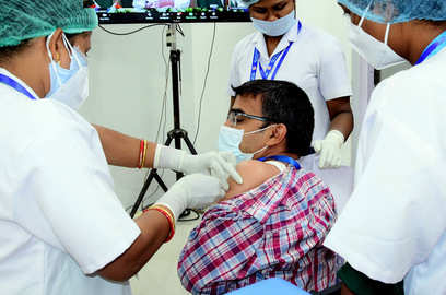 16 lakh vaccinated against covid karnataka tops list with 1 9 lakh