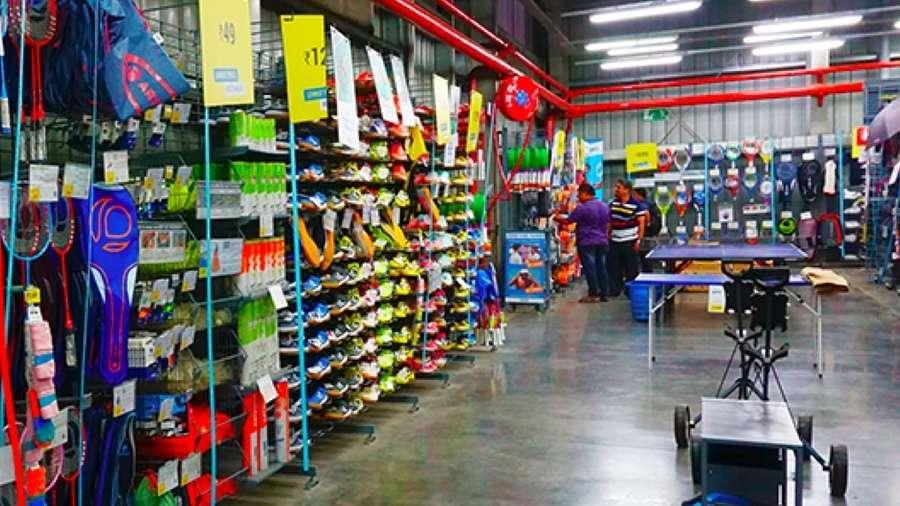 9752faf5b5d53 A Decathlon store in Howrah, West Bengal; Rudra Narayan Mitra/Shutterstock