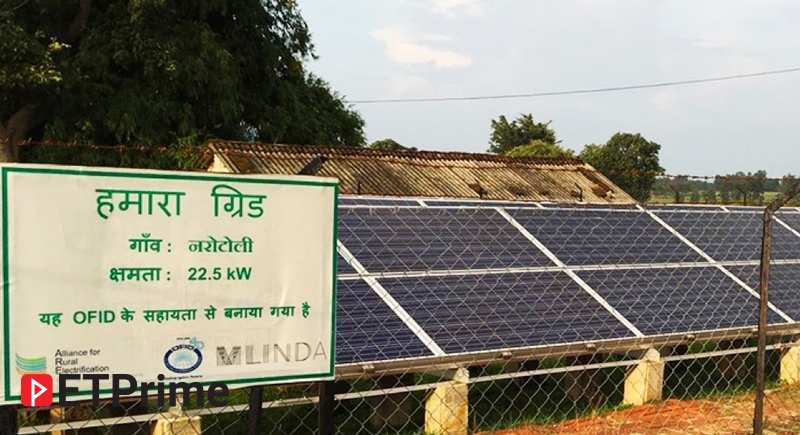 From powering photocopy shops to rice hullers, mini-grids can light up villages 24/7. T&C apply. - ET Prime