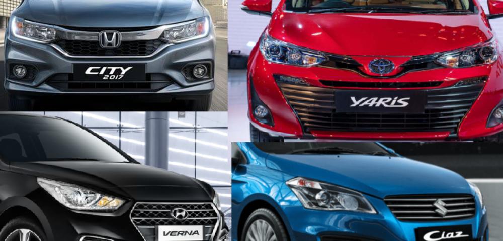 Toyota Yaris: The War of Mid-Size Sedans: Toyota Yaris Vs