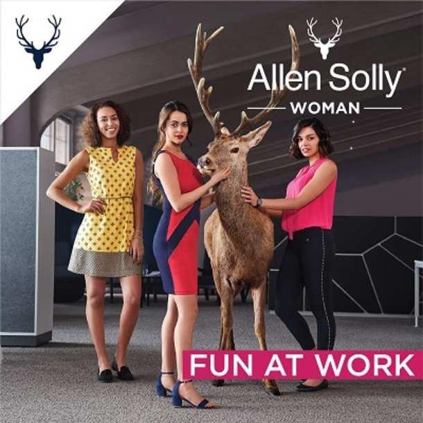 5c75a4de00e5 Ogilvy - Allen Solly Woman launches 'Fun at Work' campaign ...