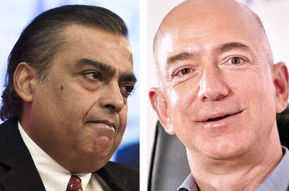 amazon set for face off with mukesh ambani s ril for india retail dominance