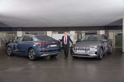 audi mercedes benz upbeat about electrification journey of passenger vehicles in india