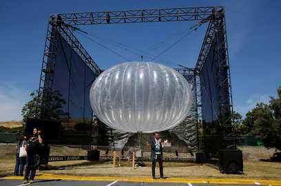 google s hot air balloon project providing cell service is closing down