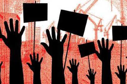 gurugram breez global heights residents protest against builder