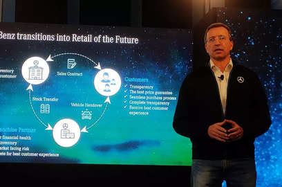 mercedes benz presents retail of the future model in india for direct sales