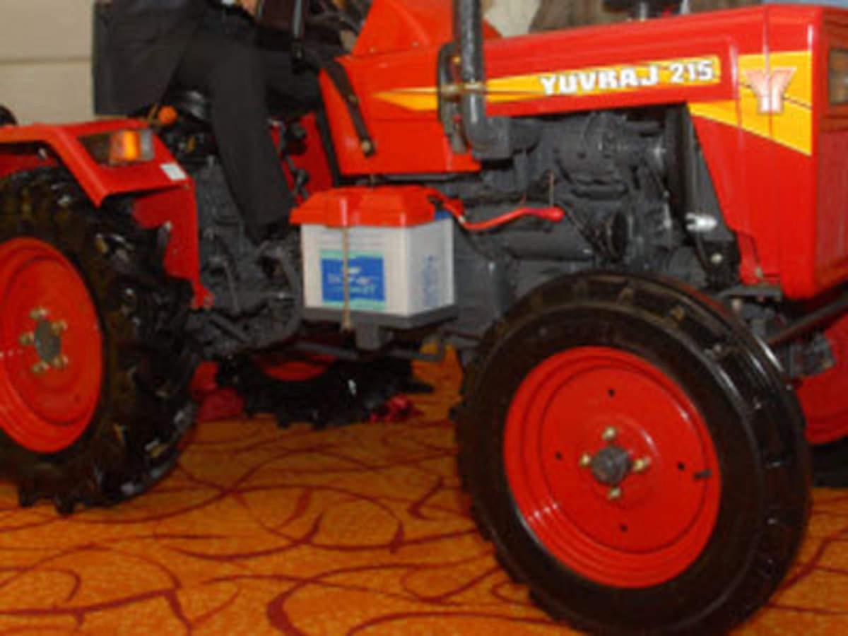 Mahindra launches 15-HP tractor Yuvraj 215 NXT, Auto News, ET Auto