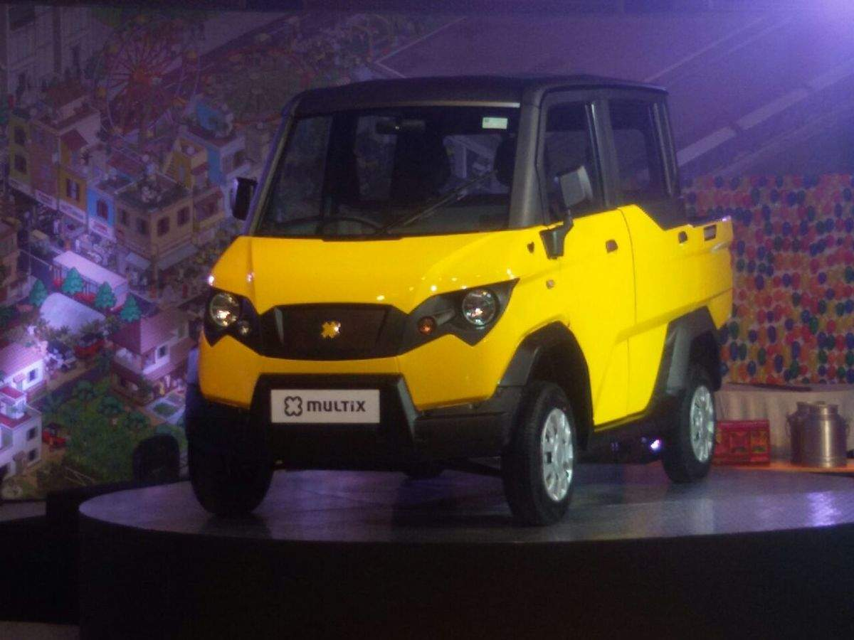 Car, goods carrier, power generator: This is all in one Eicher