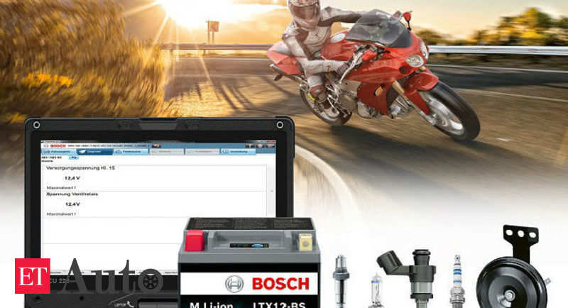 Bosch introduces new range of spare parts for motorcycles