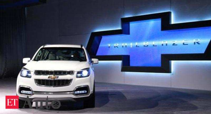 Chevrolet Trailblazer Launched At A Price Of Rs 26 4 Lakh Ex