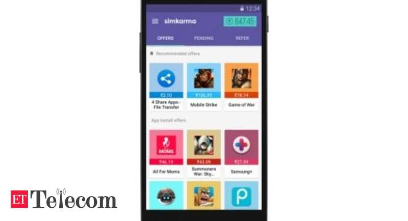 TextMe introduces Simkarma app to offer free data to 700 mn