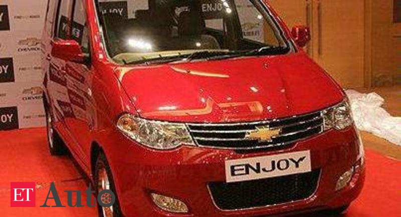 General Motors To Discontinue Its Mpv Chevrolet Enjoy In India Auto