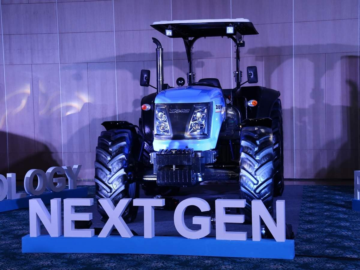 Sonalika unveils first ever 120 HP tractor - Solis 120 in
