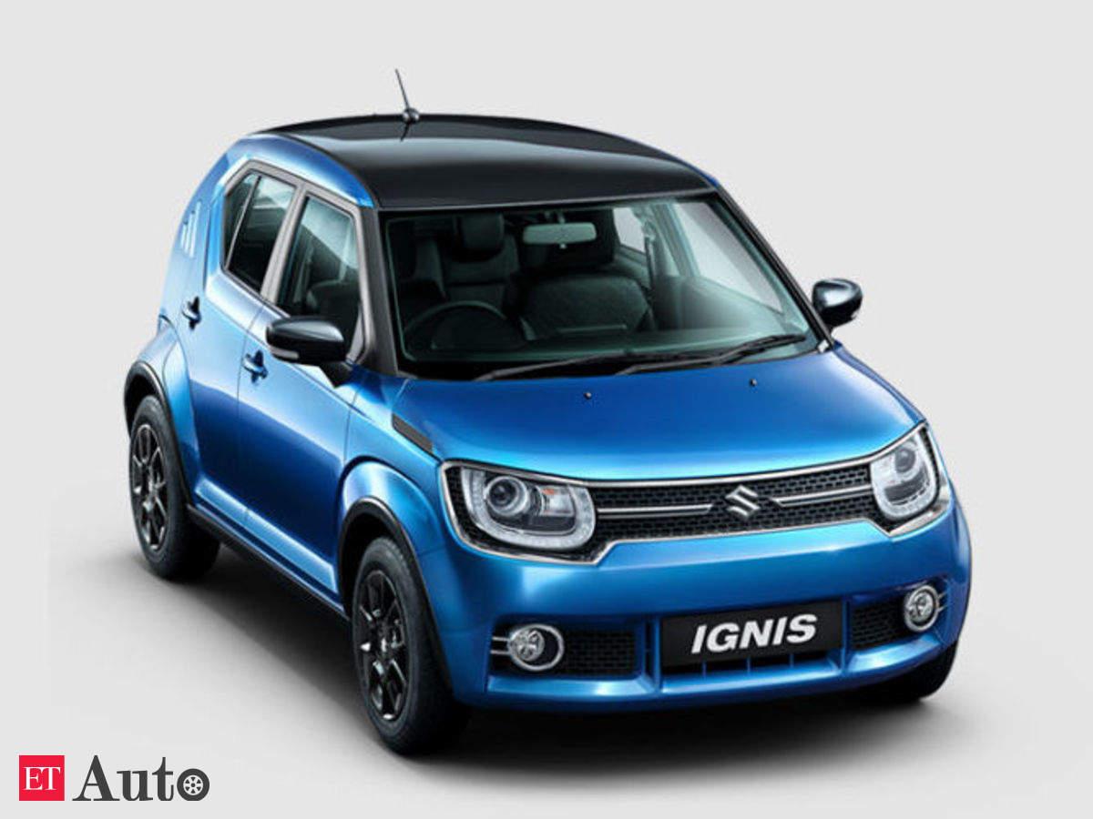 Maruti Ignis Price Maruti Suzuki Ignis Clocks Waiting Period Of 6