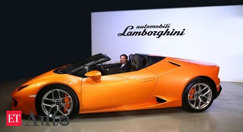 Lamborghini India Super Sports Cars S Growth To Continue In 2017 Auto News Et