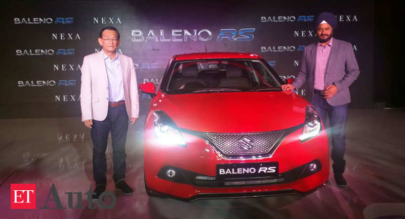 Baleno Rs Maruti Suzuki Baleno Rs Launched For Rs 8 69 Lakh Ex