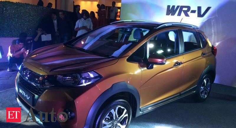 Honda WRV Price WR V Launched In India Prices Start At Rs 775 Lakh Auto News ET