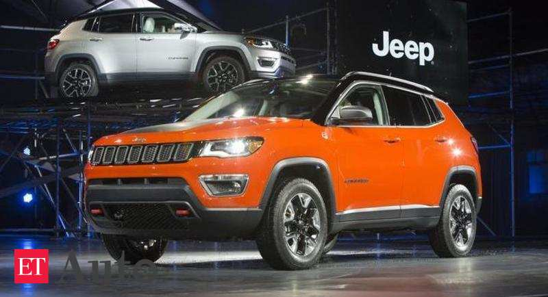 Jeep Fiat Chrysler India Opens Pre Booking Of Comp Auto News Et