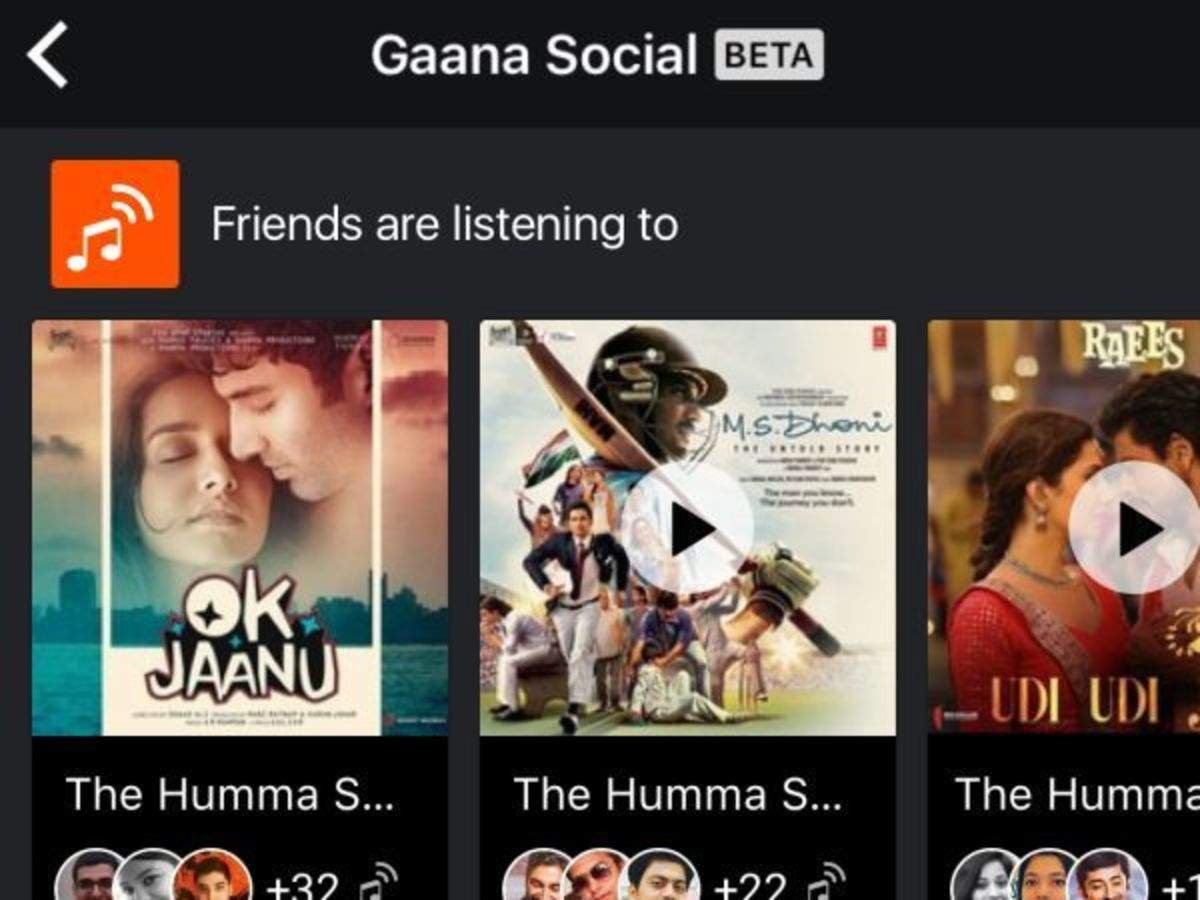 gaana: Gaana rolls out new social sharing features to users